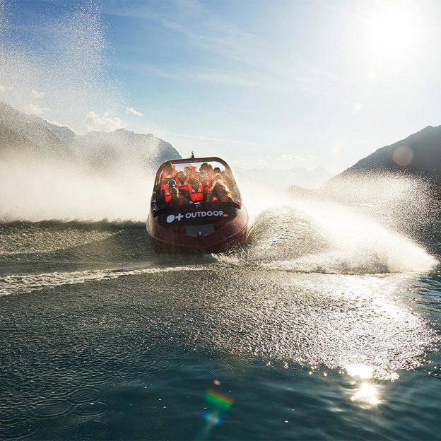 Excursion en bateau Jetboat à Interlaken (pour 2 personnes)