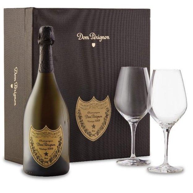 Coffret Dom Pérignon 2009 avec 2 verres Spiegelau