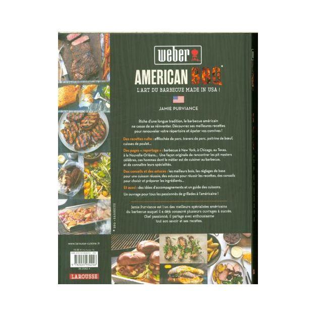 American BBQ: 120 recettes mythiques en direct des USA