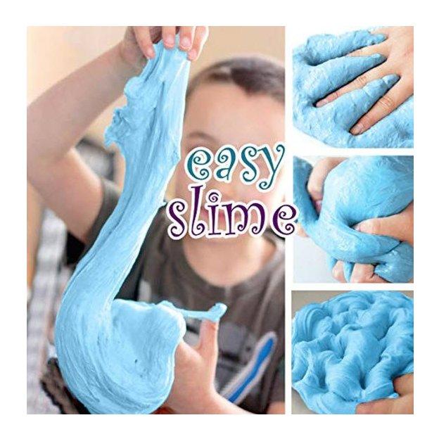 Jouet antistress Fluffy Slime bleu clair