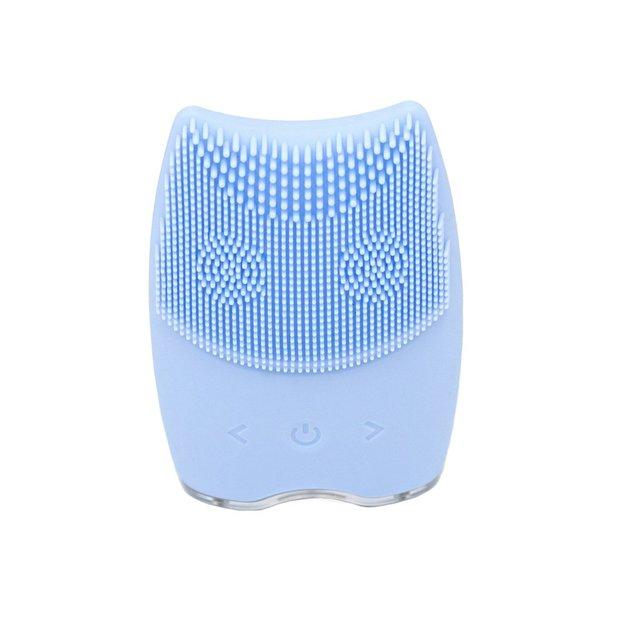 Gesichtsreiniger Silikon blau