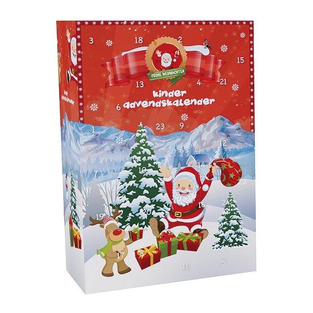 "Kinderschokolade Adventskalender ""Little Santa"" - Ferrero, Duplo, Hanuta, Ü-Ei, Kinderriegel uvm."