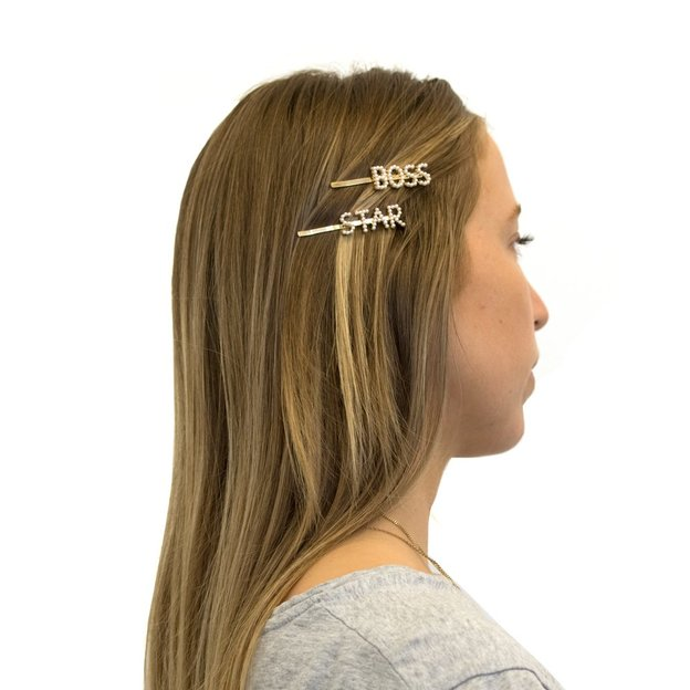 Haarspange Star