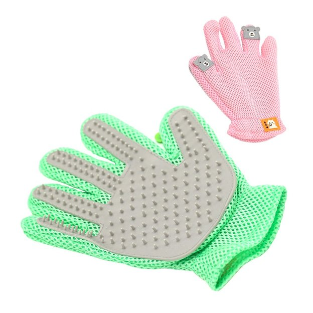 Fellpflege Handschuh für Haustiere