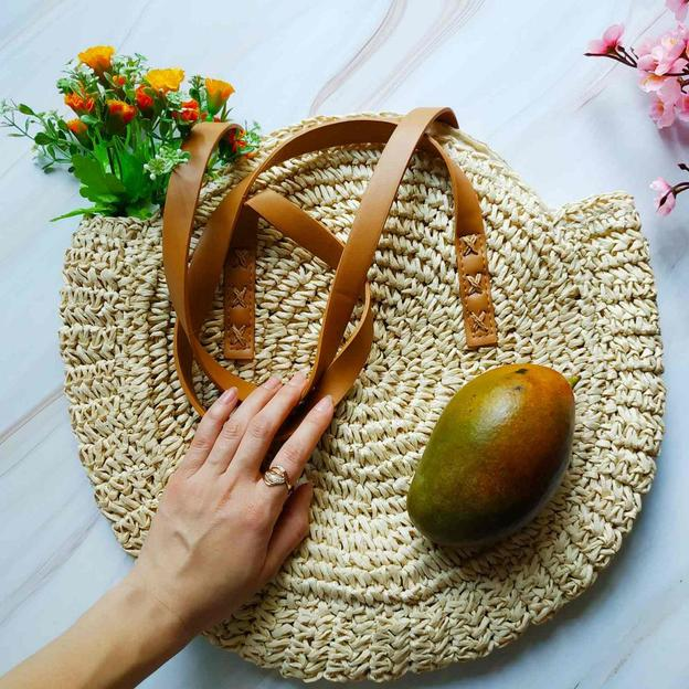 Strandtasche Bali geflochten