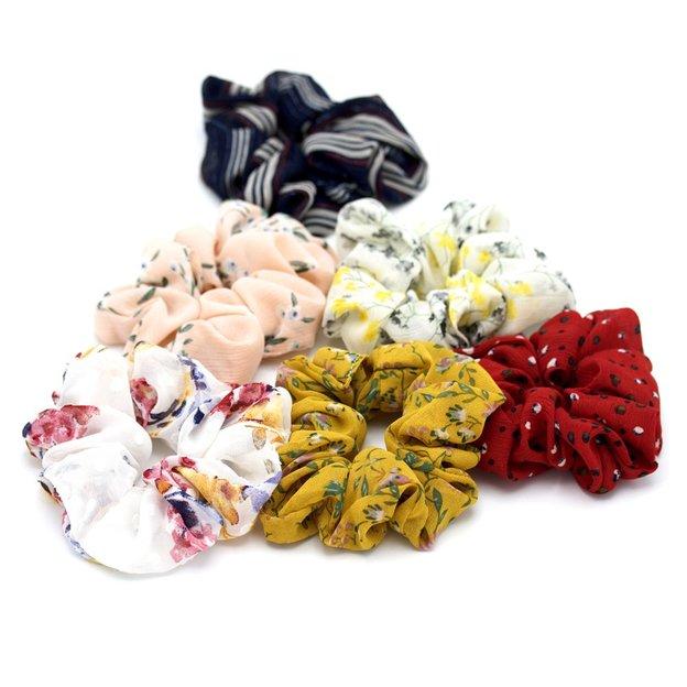 Chouchous Scrunchies, 6 pièces