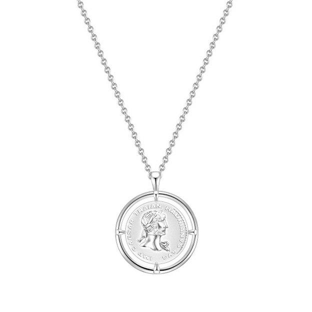 Halskette Münze Sterling Silber