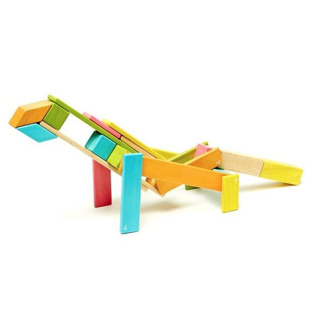 Jeu de construction en bois magnétique TEGU, 24 pièces