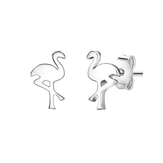 Ohrstecker Flamingo Sterling Silber
