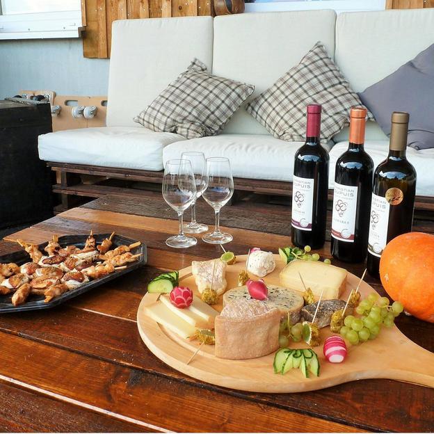 Dégustation de vins et fromages (1 pers.)