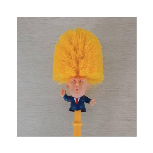 Donald Trump WC-Bürste mit Untersatz