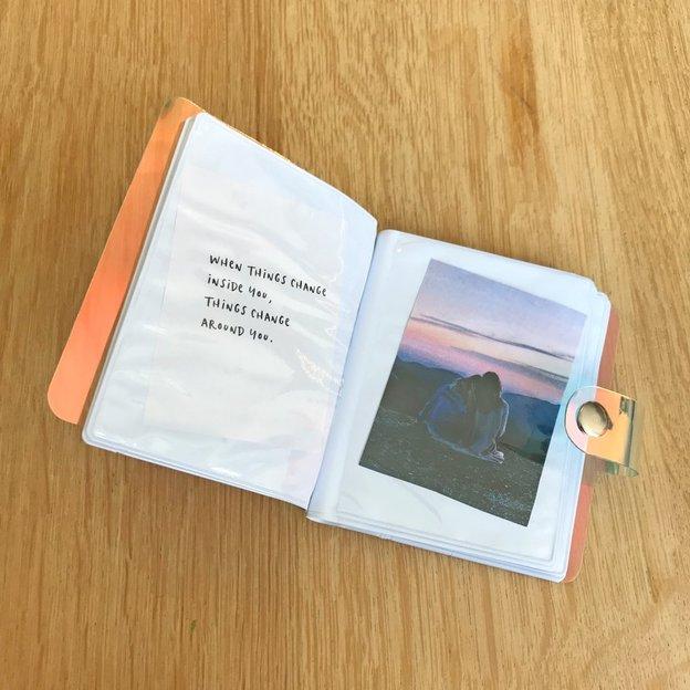 Album Photo holographique pour Instax mini