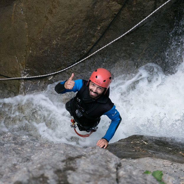 Canyoning ACTION in Stansstad (5 Stunden)