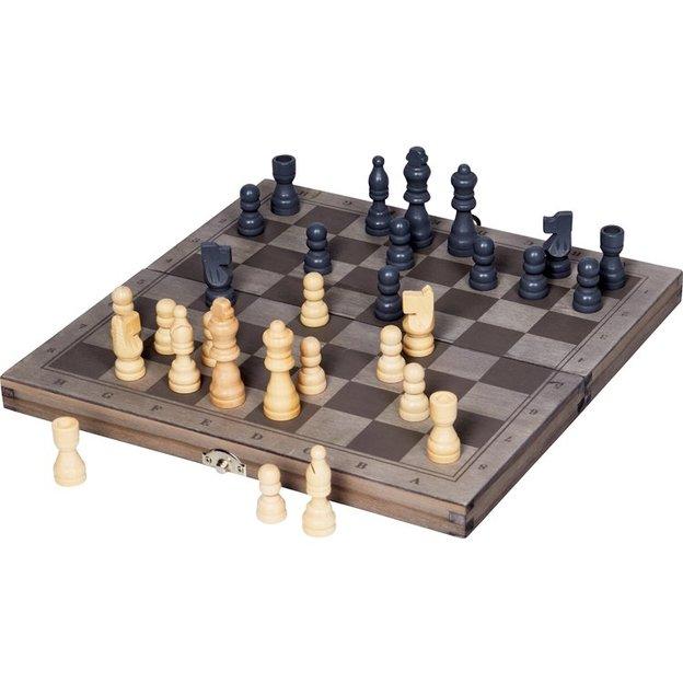 Backgammon et jeu d'échecs, 2 en 1