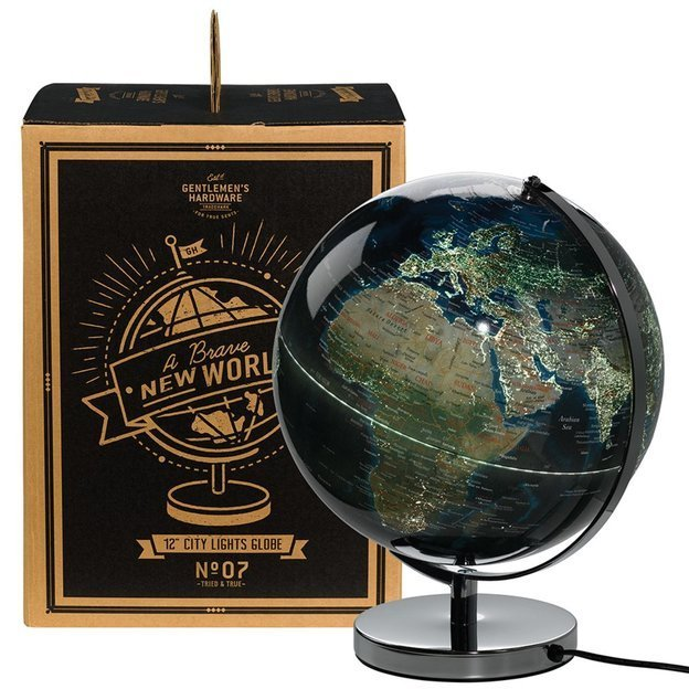 Gentlemen's Hardware Globus Lampe City Lights