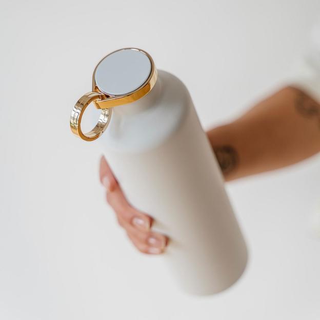 Equa Smart-Bottle mit App, Snow White, 680ml
