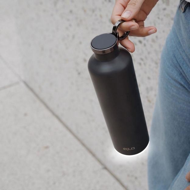 Bouteille Equa Dark Grey SMART, 680 ml
