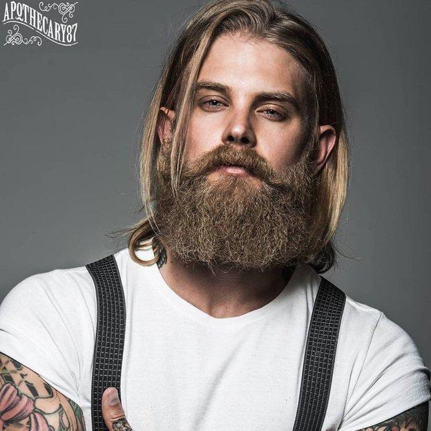 Huile pour barbe recette originale d'Apothecary87 50ml