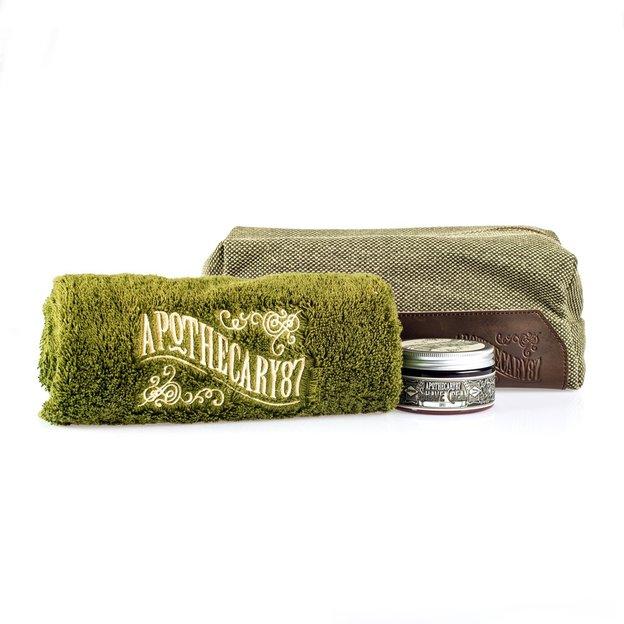 Shave Kit étui avec serviette d'Apothecary87