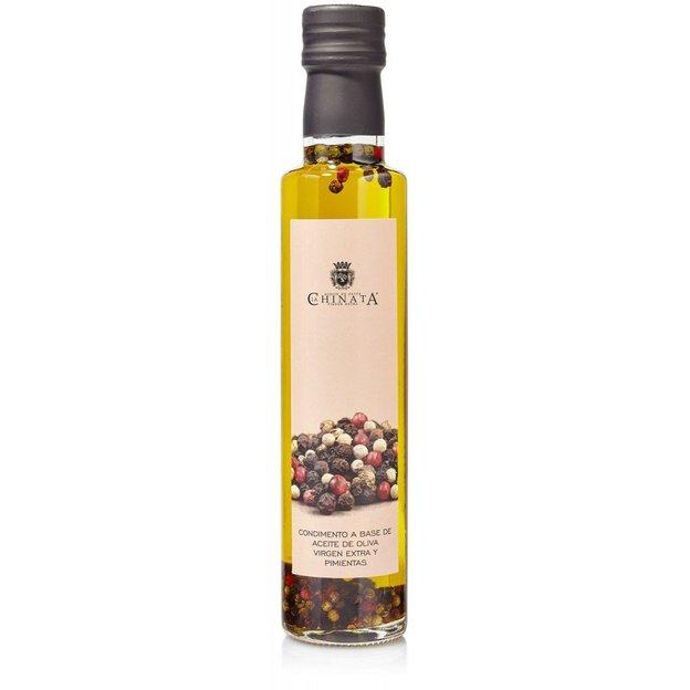 Geschenkset mit 6 Geschmacksrichtungen Olivenöl Extra Vergine in Holzkiste