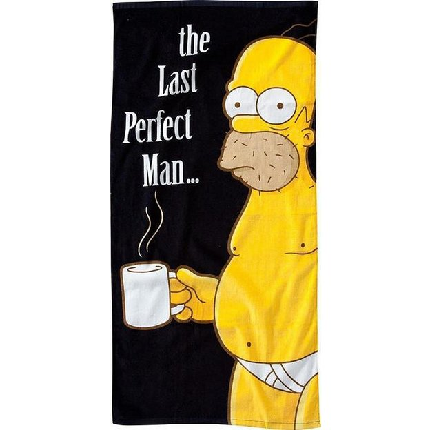 Strandtuch Simpsons The Last Perfect Man 75 x 150 cm