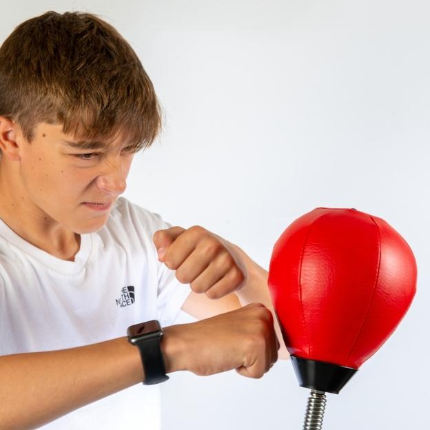 Punching-ball mini, balle anti-stress de bureau