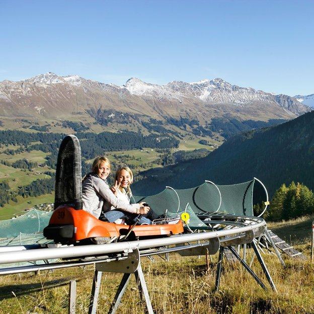 Rodeln & Seilpark auf dem Erlebnisberg Pradaschier, Churwalden-Lenzerheide (für 1 Person)