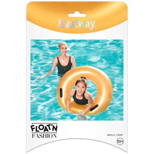 Bestway Gold Swim Ring