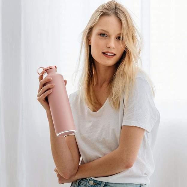 Bouteille personnalisée Equa Pink Blush SMART, 680ml