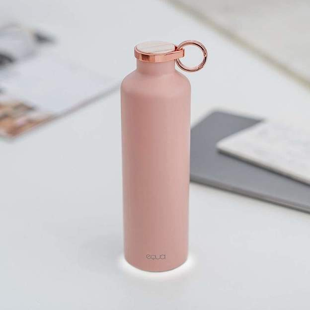 Personalisierbare Equa Smart-Bottle mit App, Pink Blush, 680ml