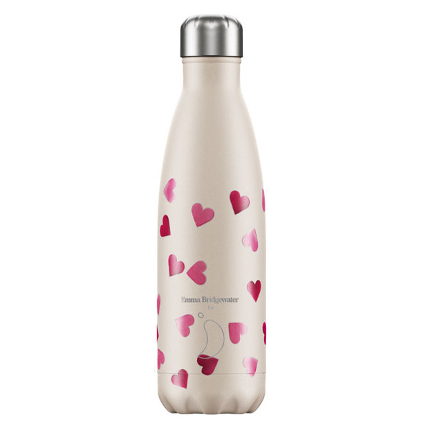 Chilly's Bottles Emma Bridgewater Hearts, Trinkflasche 500 ml