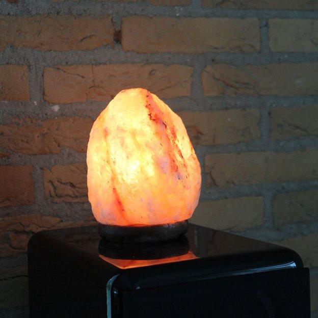 Lampe cristal de sel de l'Himalaya 2-3 kg