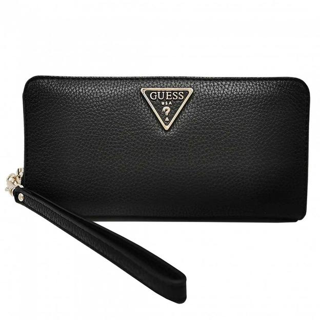 Guess Portemonnaie small leather goo black