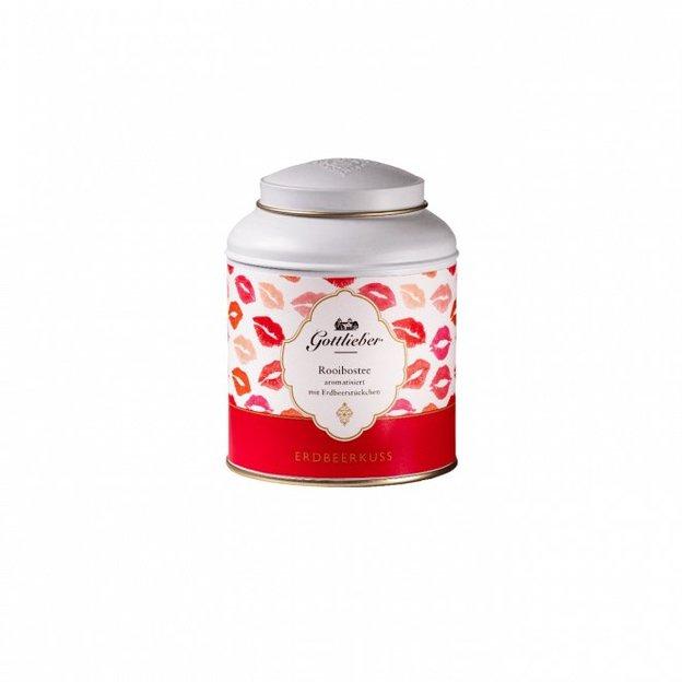 Thé Gottlieber fraise et rooibos 100 g