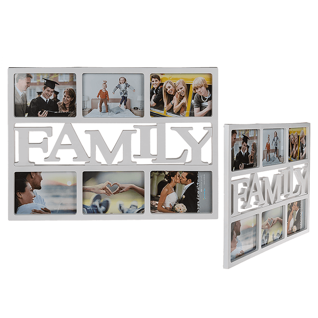 Cadre photo Family XL blanc