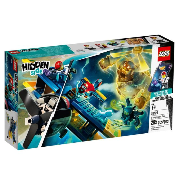 LEGO Hidden Side El Fuegos Stunt-Flugzeug Augemented Reality-Set