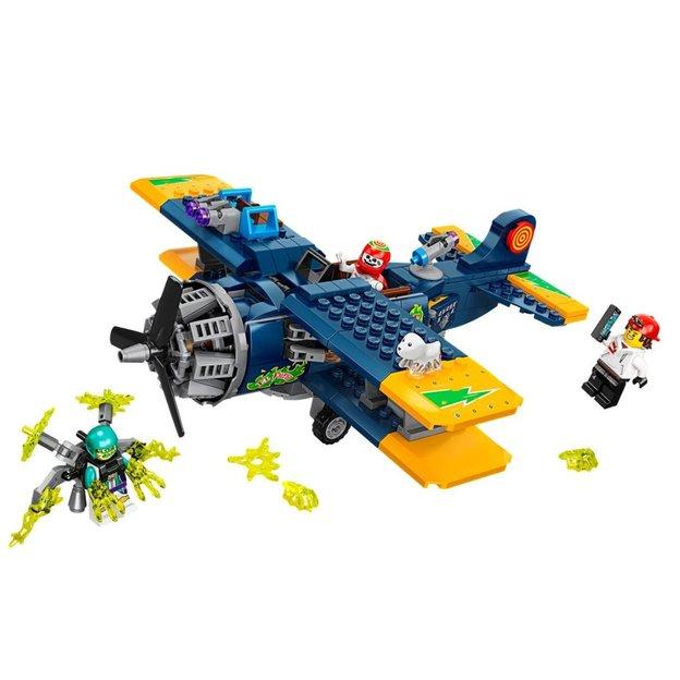 Set de jeu LEGO Hidden Side, l'avion de voltige d'El Fuego, réalité augmentée