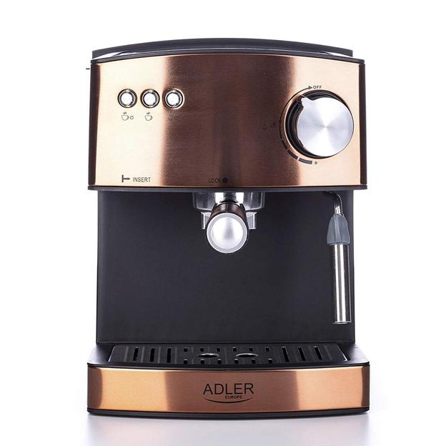 Espressomaschine, Kupfer