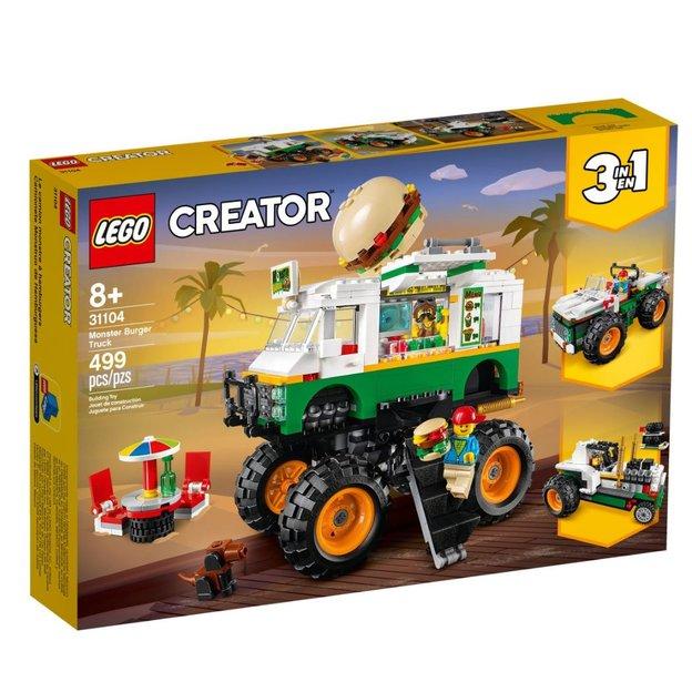 LEGO Creator Burger-Monster Truck