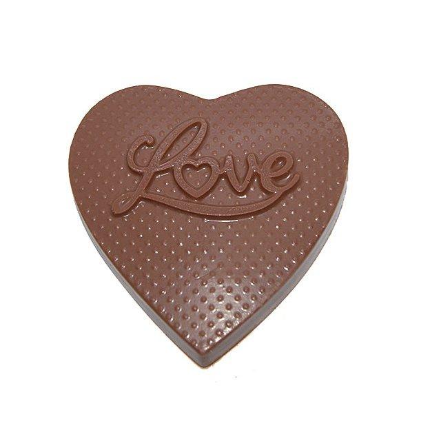 Cœur en chocolat au lait 200 g