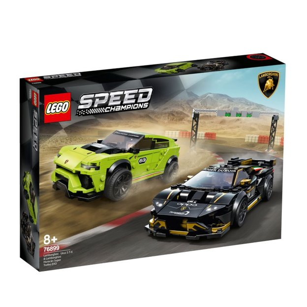 LEGO Speed Champions Lamborghini Urus ST-X & Lamborghini Huracan Super Trofeo EVO