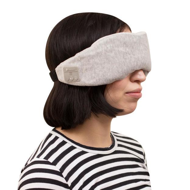 Masque de nuit avec écouteurs intégrés et fonction Bluetooth