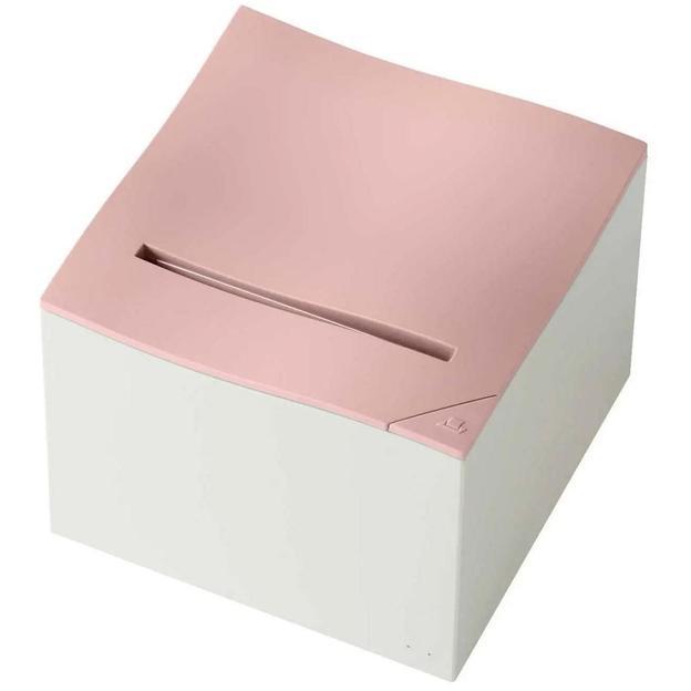 Nemonic mini imprimante à pense-bête, rose et blanc