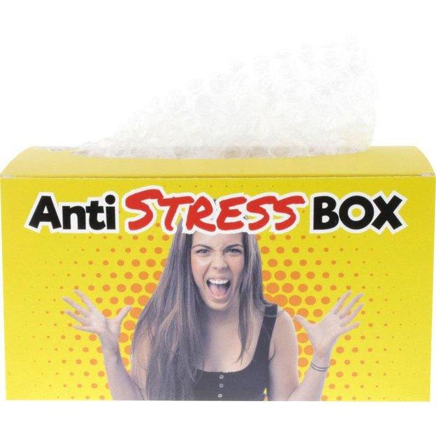Boîte antistress avec papier bulle
