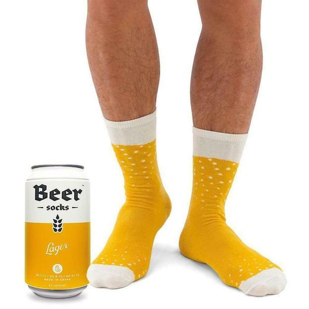Bier Socken in der Dose