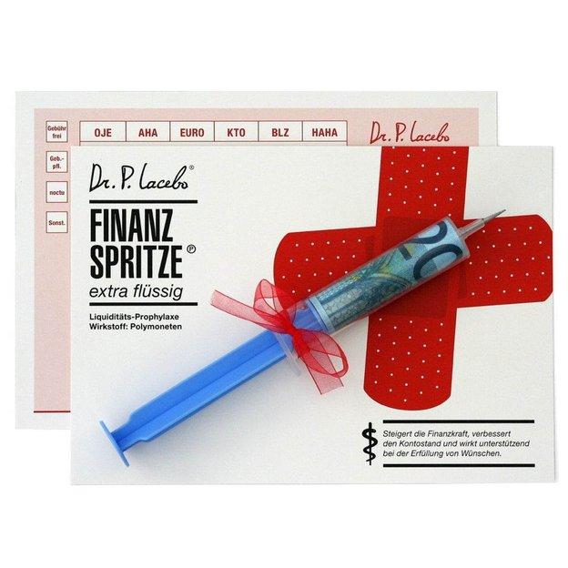 Finanzspritze - Kontofiller, extra flüssig