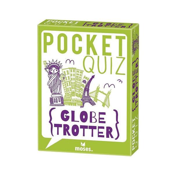 Pocket Quiz Globetrotter - 150 Fragen für alle Reiselustigen!