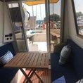 Location de bateau électro-solaire sans permis à Genève en demi-journée (4 heures)