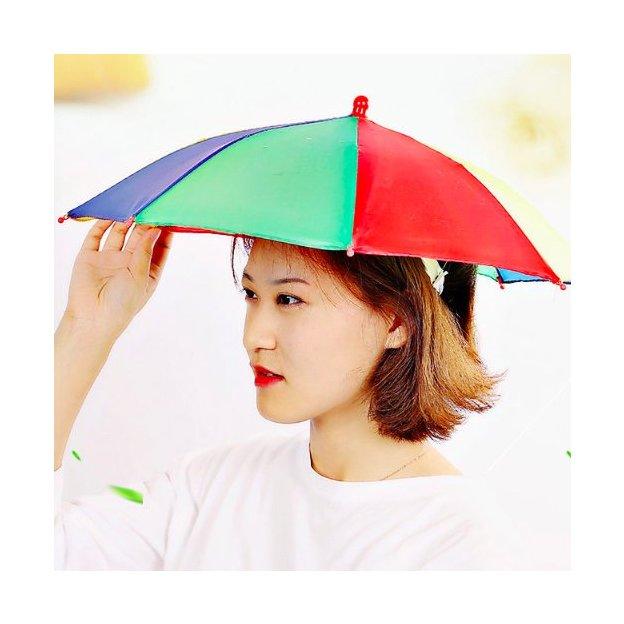 2in1 Hut gegen Regen und Sonnenschein