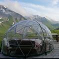 Romantische Übernachtung im Bubble Hotel auf der Klewenalp (für 2 Personen)